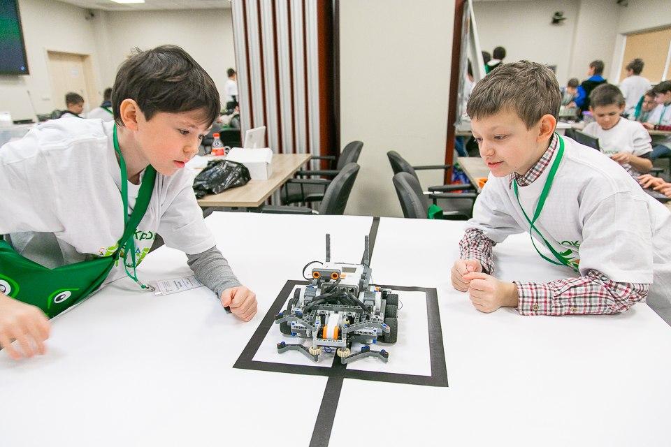 Спортивная робототехника EV3