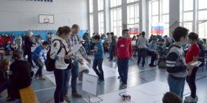 Конкурс Мой робот 2018 в ШИК 16