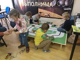 Курс по робототехнике для дошкольников Технарики / 5+