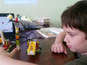 Курс по робототехнике для детей Основы робототехники Lego WeDo+Scratch+ТРИЗ / 7+