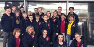 Российская сборная перед полётом на олимпиаду WRO в Тайланде