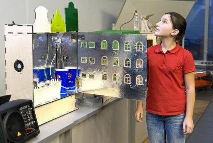 GreenFab - хакатон для школьников в Лаборатории цифрового производства Фаблаб МИСиС