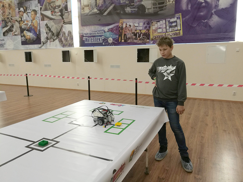 Региональный отбор Турнира двух столиц по робототехнике