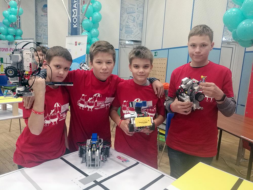 Ученики Робоцентра Полигон в финале Турнира двух столиц