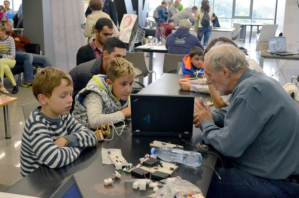 Робоцентр Полигон на Maker Faire 2017 в НИТУ МИСиС