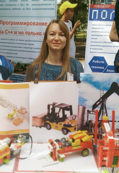 Преподаватель Робоцентра Полигон в Балашихе Ковзалина Анна Андреевна