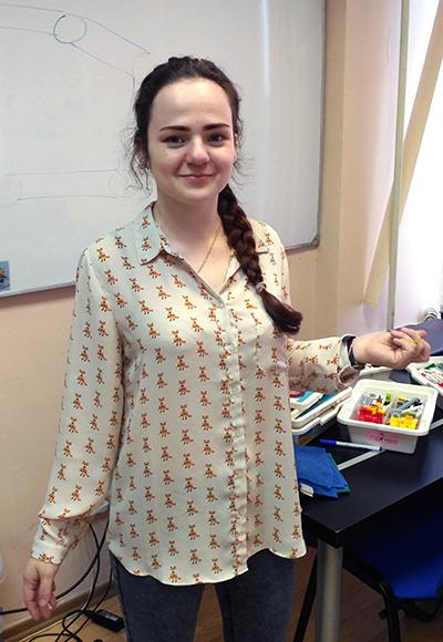 Преподаватель Робоцентра Полигон Товкань Василина Андреевна