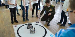 Робототехнический фестиваль КиберШтурм в Балашихе