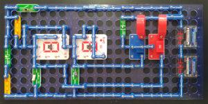 Макет сайта из электронного конструктора Знаток