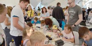 Зажги сердце робота на фестивале Rukami