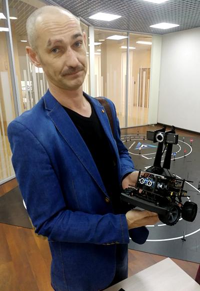 Преподаватель Робоцентра Полигон в Балашихе Амилаев Алексей Геннадьевич